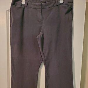 18W Gray dress pants